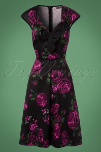Lady V Purple Rose Swing Dress 102 14 23690 20171106 0007W