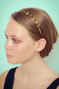 Rosie Fox Gold Hairband 208 91 23767 01112017 model