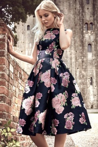 Chi Chi London Montana Roses Swing Dress 102 39 24018 20171107 3