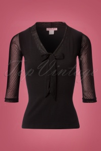 Heart of Haute Black Bow Inspire Top 110 10 23070 20171108 0002W