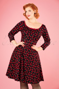 Collectif Clothing Willow Small Cherries Doll Dress 21844 20170614 0016W