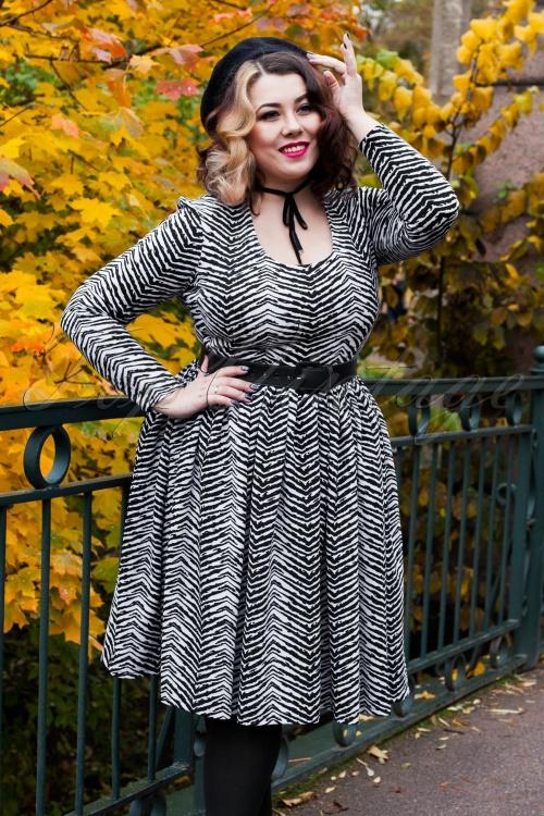 d3fc69e4f8 Vixen by Micheline Pitt Frisky Fetish Collection Zebra Print Dress 102 59  21942 20170817 0007w