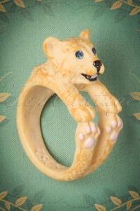 50s Little Lion Cub Ring