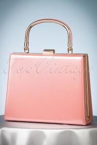 La Parisienne 50s Leona Lacquer Pink Bag 212 22 23927 08112017 009W