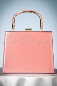 La Parisienne 50s Leona Lacquer Pink Bag 212 22 23927 08112017 005W