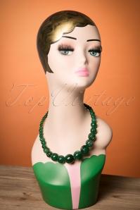 Splendette Carved Deep Green Fakelite Beads 300 40 23727 20171109 0013w