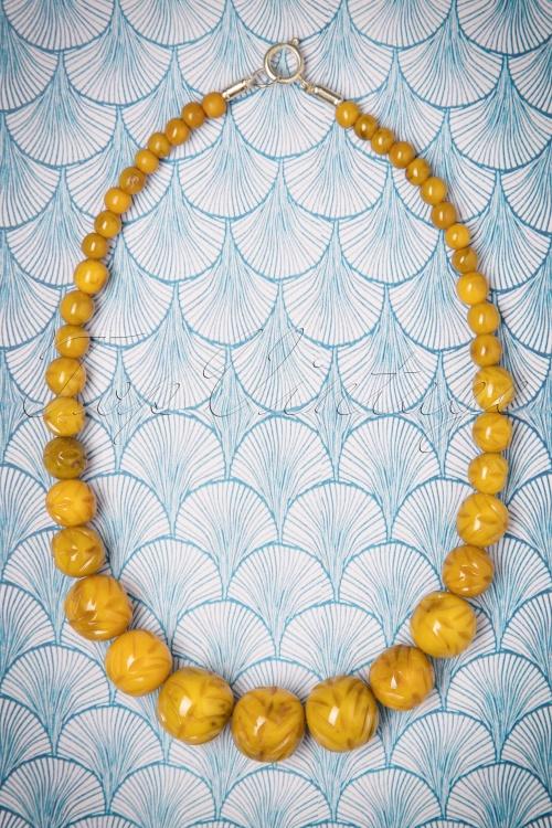 Splendette Carved Banoffee Fakelite Beads 300 21 23720 20171109 0004w