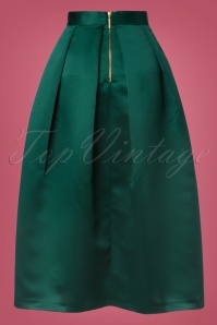 Closet London Pleated Midi Green Skirt 122 40 24005 20171113 0007W