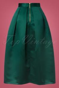 Closet London Pleated Midi Green Skirt 122 40 24005 20171113 0007W