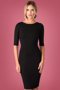 Closet London Panel Black Dress 100 10 24002 20171113 0010