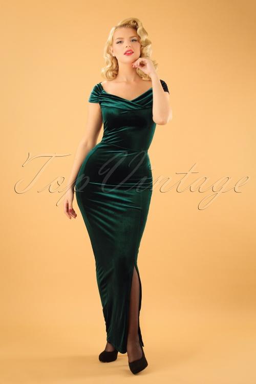 Can velvet vintage dress your