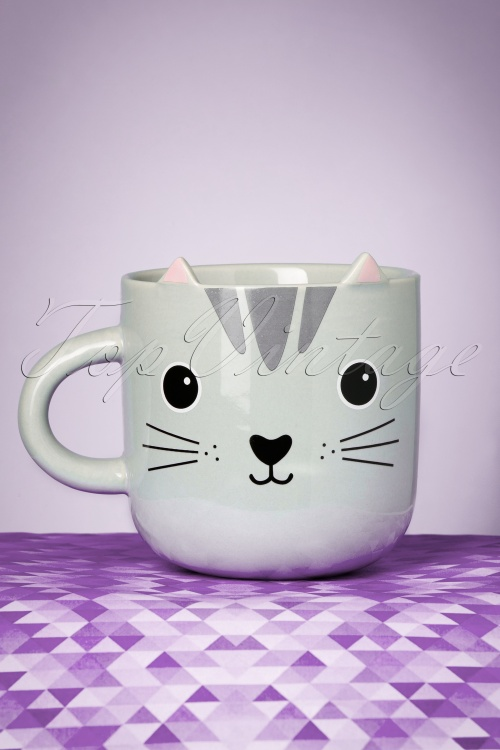 Sass&Belle 60s Nori Cat Mug 290 15 23973 08112017 014W