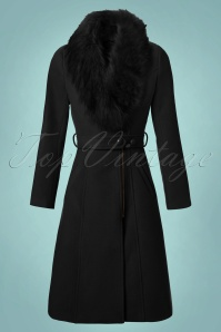 Hearts and Roses Faux Fur Winter Coat 152 52 23155 20171030 0004W