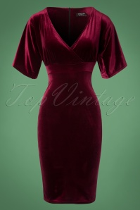Vintage Chic Velvet Cross Dress 100 20 22467 20171113 0002W