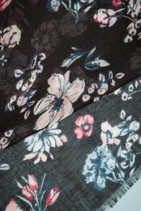 Celestine Floral Scarf in Black 240 10 23416 20171103 0012