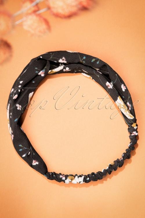 Celestine Grey Floral Headband  208 10 23403 20171108 0004w