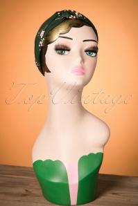 Celestine Green Floral Headband  208 40 23402 20171108 0015w
