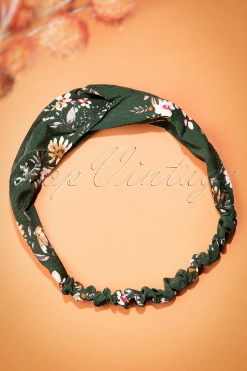 Celestine Green Floral Headband  208 40 23402 20171108 0003w