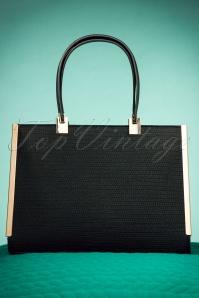 60s Terri Classic Handbag in Black