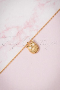 Lisa Angel Gold Owl Necklace 300 91 23796 07112017 006W