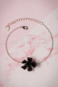 Lisa Angel Acrylic Black bracelet 310 10 23797 07112017 005W
