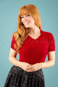 Pretty Retro Red Sweetheard Top 113 20 23598 20171012 1W
