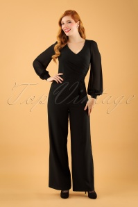 Vixen Rosemary Jumpsuit in Black 133 10 19473 20161005 01W