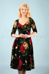 Vintage Chic Sweet heart Dress 102 14 22769 20171019 1W