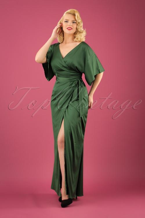 Olive Maxi Dresses