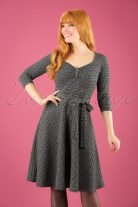 Vintage Chic Ribbed Textured Dress 102 14 22496 20171019 1W