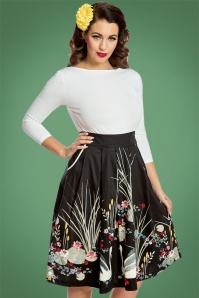 Lindy Bop Daniella Black Swan Skirt 122 14 22923 20171123 01
