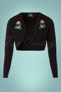 Hearts and Roses Black Roses Bolero 141 10 24231 20171127 0002W