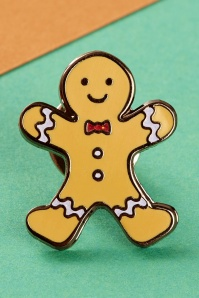 PunkyPins 60s Gingerbread Boy Brooche 340 80 24217 01