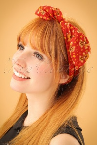 Be Bop A Hairband Gingerbread Man Red 208 27 23952 model01W