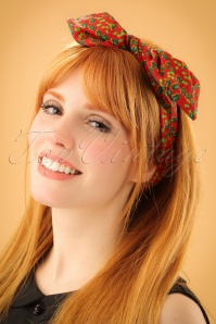 Be Bop A Hairbands Holy Leaves Red Green 208 27 23951 model01W