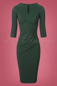 Diva Catwalk Lydia Three Green Pencil Dress 100 40 24158 20171122 0004w