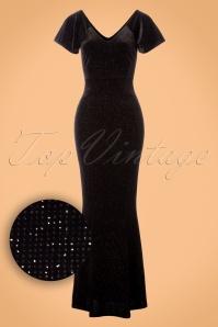 Vintage Chic Velvet Glitter Maxi Dress 108 10 23383 20171127 0003W1