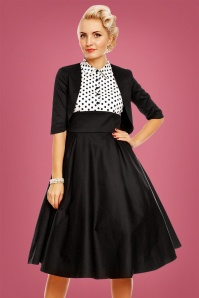 Dolly and Dotty Black and White Swing Dress 102 14 22959 20171128 02