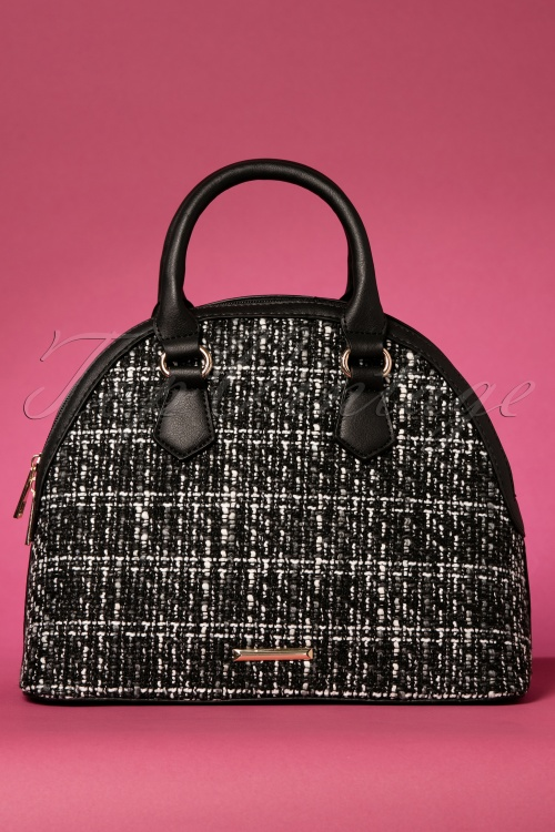Kaytie Black and White Handbag 212 14 22942 29112017 005W