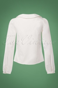Dancing Days by Banned White Bow Blouse 112 51 23990 20171201 0010W