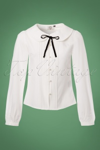 Dancing Days by Banned White Bow Blouse 112 51 23990 20171201 0004W