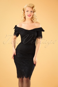 Dolly and Dotty Black Lace Dress 100 10 22977 20170926 1W