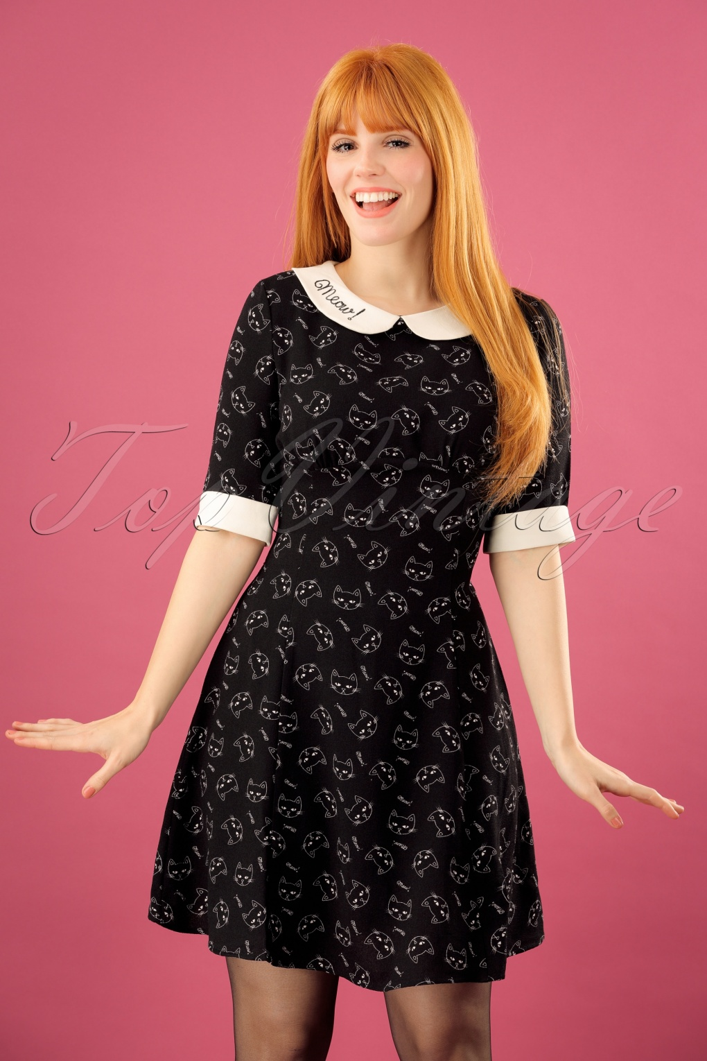 1960s Mad Men Dresses and Clothing Styles 60s Matou Mini Dress in Black £34.07 AT vintagedancer.com