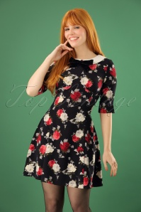 Bunny Selma Floral Mini Dress 102 14 22602 20171030 0012W