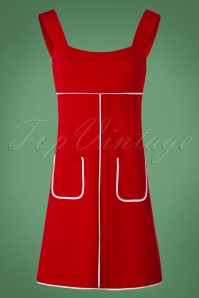 Dancing Days by Banned Studio 64 Dress in Red 106 20 19792 20161011 0007W