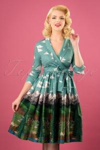 Lindy Bop Alpine Floral Swing Dress 102 39 22913 20171030 0012w