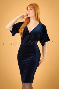 Vintage Chic Velvet Cross Dress 100 20 22468 20171113 2w