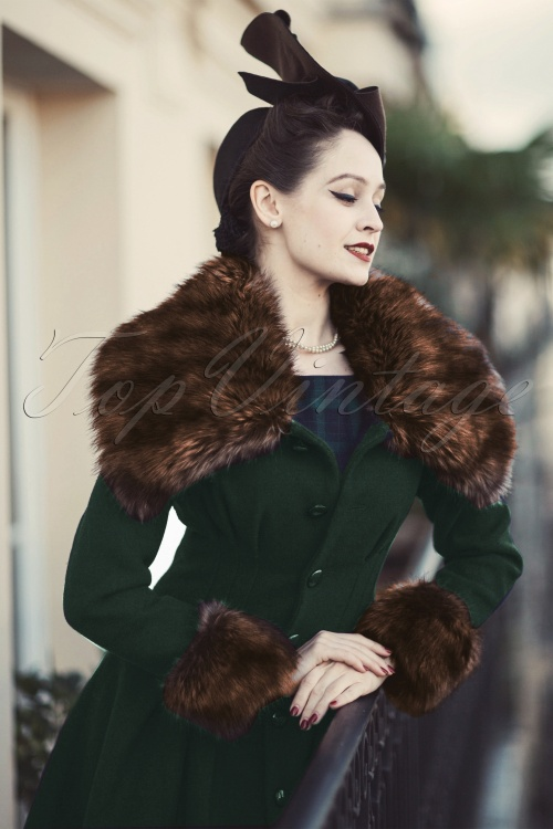 Collectif Clothing Pearl Coat Green 14396 20140616 0006 nelsonanywaysW