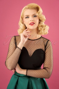 Collectif Clothing Morticia Polkadot Mesh Top 21959 20170607 0002 (2)w