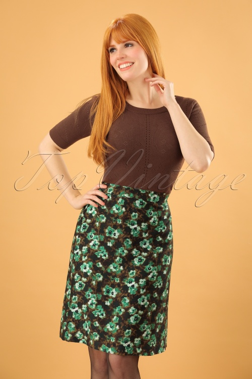 Wow to go!  Green Fleur Skirt 123 49 21616 20171023 0003 (2)w